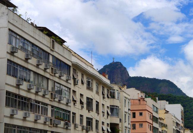 Apartamento em Rio de Janeiro - FM604 Praia de Copacabana Vista Cristo Redentor